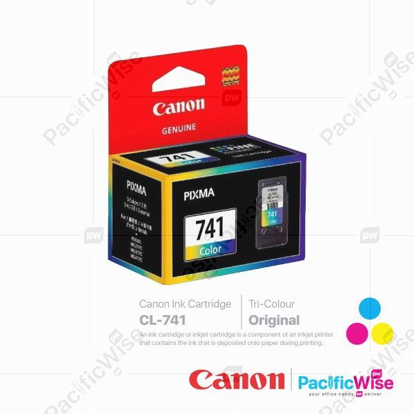 Canon Ink Cartridge CL-741 Tricolour (Original)