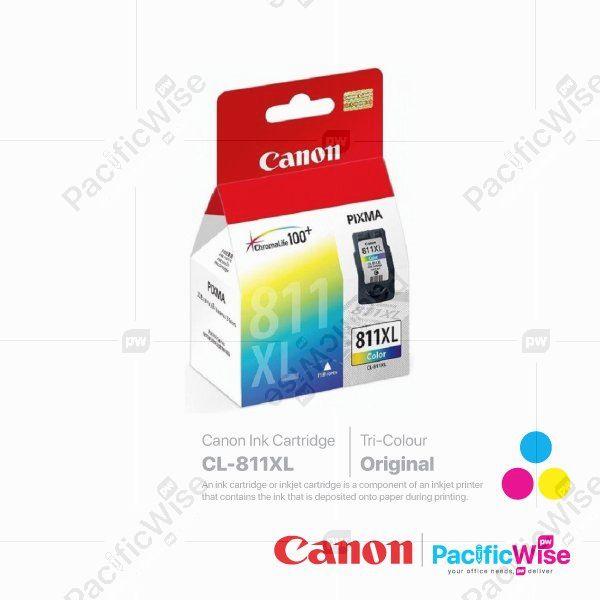 Canon High Yield Ink Cartridge CL-811XL Tricolour (Original)