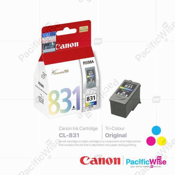 Canon Ink Cartridge CL-831 Tricolour (Original)