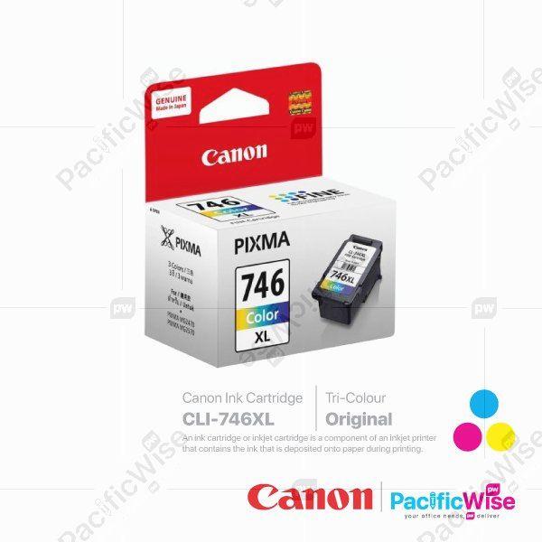 Canon High Yield Ink Cartridge CLI-746XL Tricolour (Original)