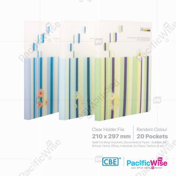 CBE Clear Holder Files Linear & Flower