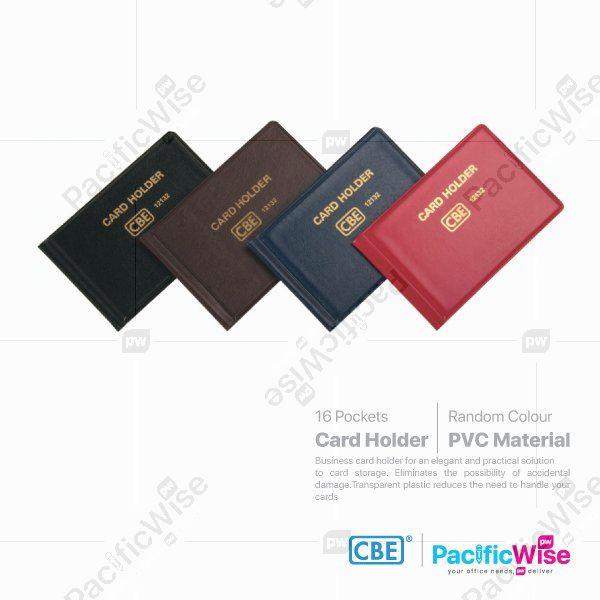 CBE/Multiple Card Holder PVC/Pelbagai Pemegang Kad PVC/Holder filing/12132
