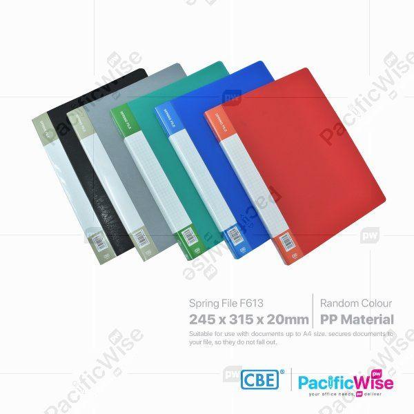 CBE Spring File PP F613
