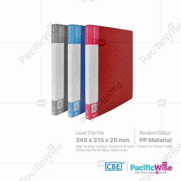 CBE Lever Clip File PP BN603
