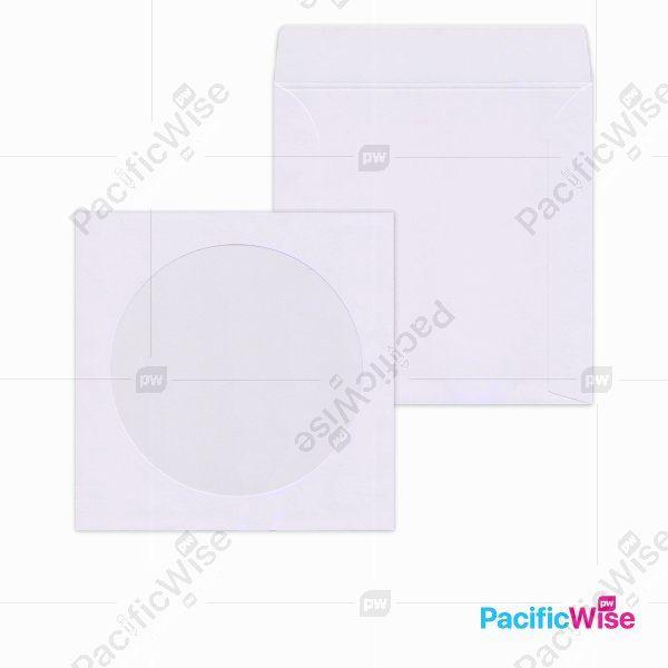 White CD Envelope (Window)/Sampul CD Putih (Tetingkap)/Envelope/5
