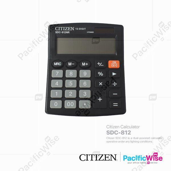 Citizen Calculator SDC-812