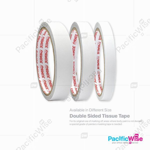 Double Sided Tissue Tape (8yds)