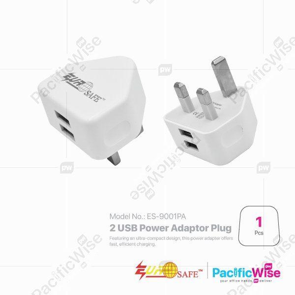 EUROSAFE 2 USB Power Adaptor Plug (ES-900IPA)