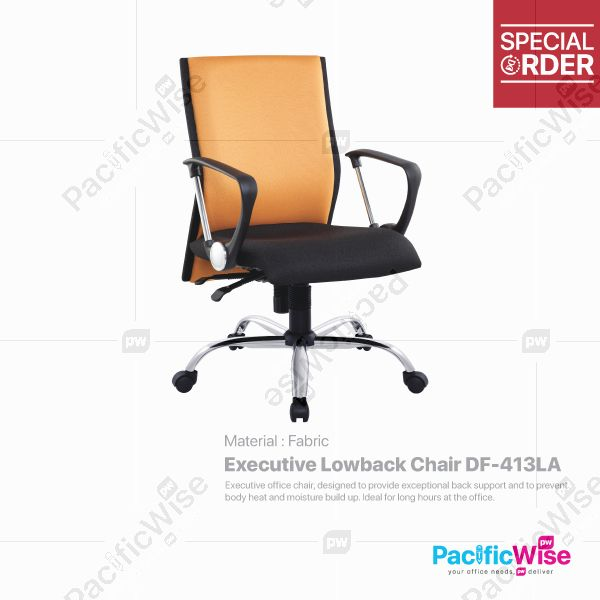 Executive Lowback Chair/Kerusi Eksekutif Rendah DF-413LA