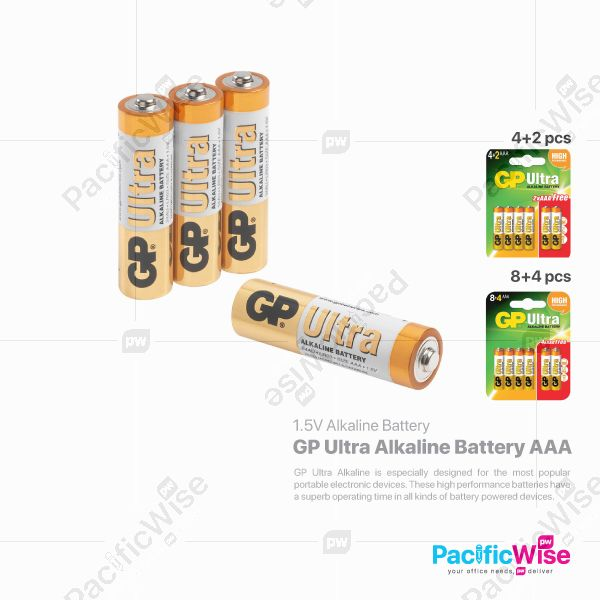 GP Alkaline Battery AAA
