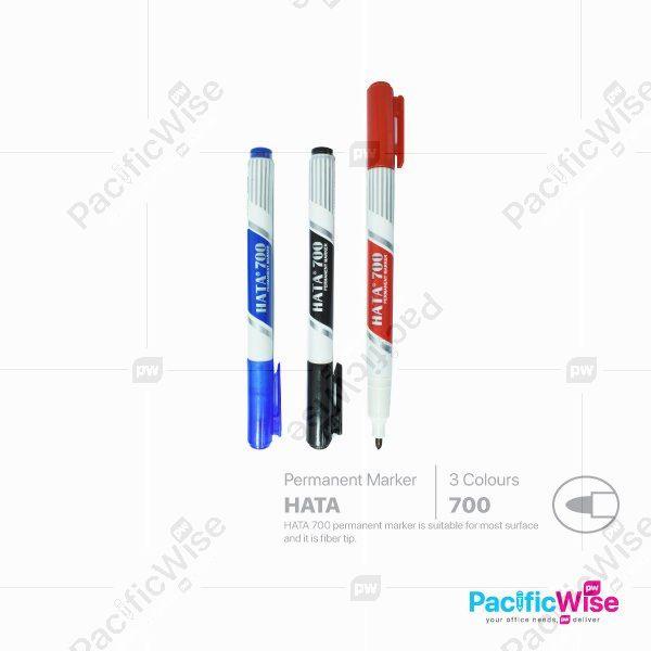 Hata/Permanent Marker/Penanda Kekal/Writing Pen/700/1.0mm