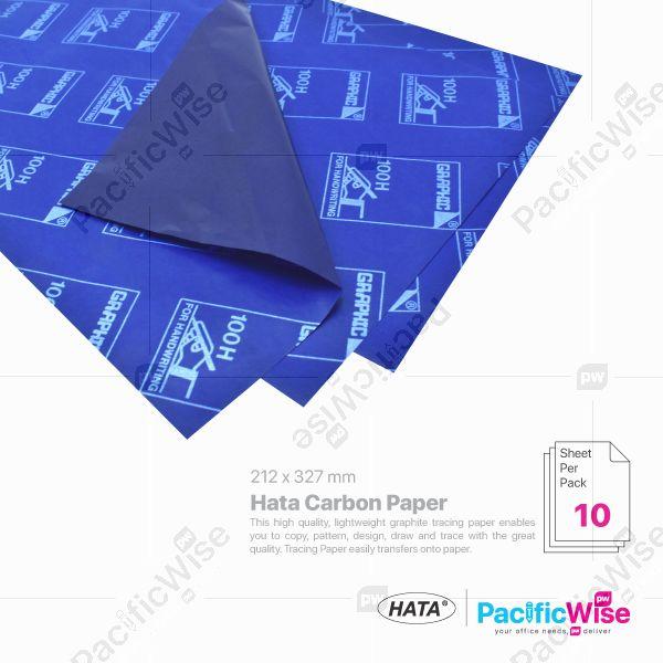 Hata/Hata Carbon Paper/Kertas Karbon/Blue/Single & Double Side