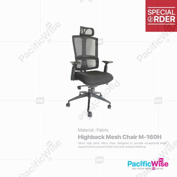 Highback Mesh Chair/Kerusi Mesh Tinggi/M-160H