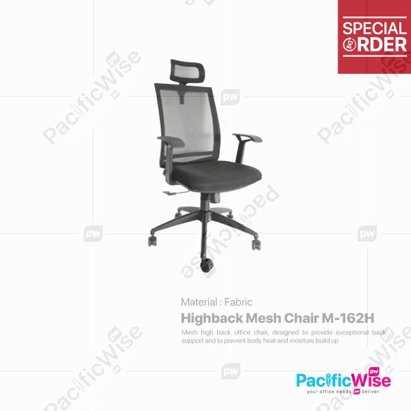 Highback Mesh Chair/Kerusi Mesh Tinggi/M-162H