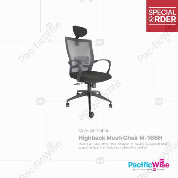 Highback Mesh Chair/Kerusi Mesh Tinggi/M-166H