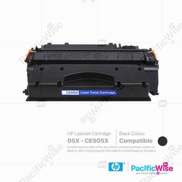 HP 05X LaserJet Toner Cartridge CE505X (Compatible)