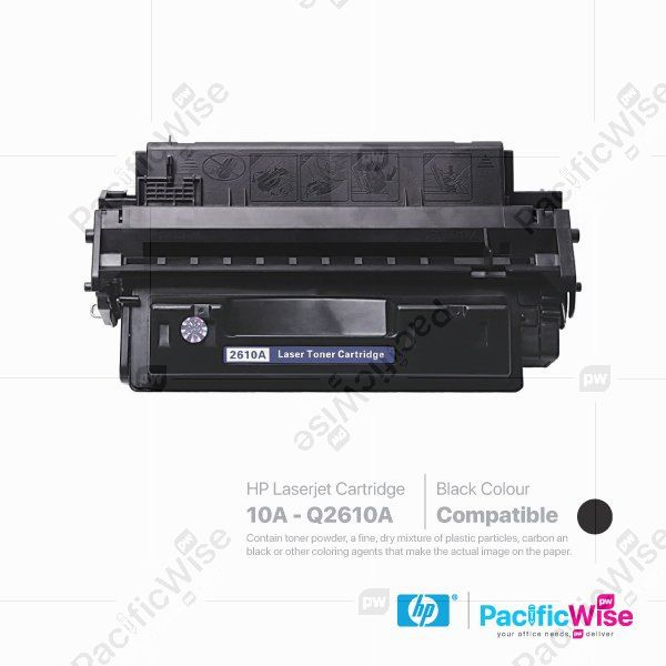 HP 10A LaserJet Toner Cartridge Q2610A (Compatible)