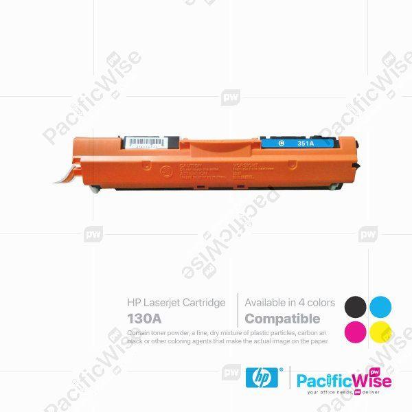 HP 130A LaserJet Toner Cartridge CF350A ~ CF353A (Compatible)