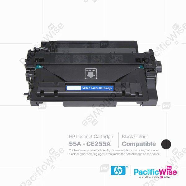 HP 55A LaserJet Toner Cartridge CE255A (Compatible)