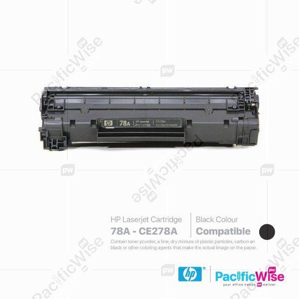 HP 78A LaserJet Toner Cartridge CE278A (Compatible)