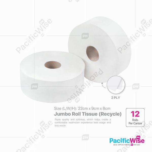 (Material : Recycle) - Jumbo Roll Towel (JRT)
