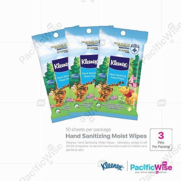 Kleenex Hand Sanitizing Moist Wipes (3 Packet x 10 Sheet)
