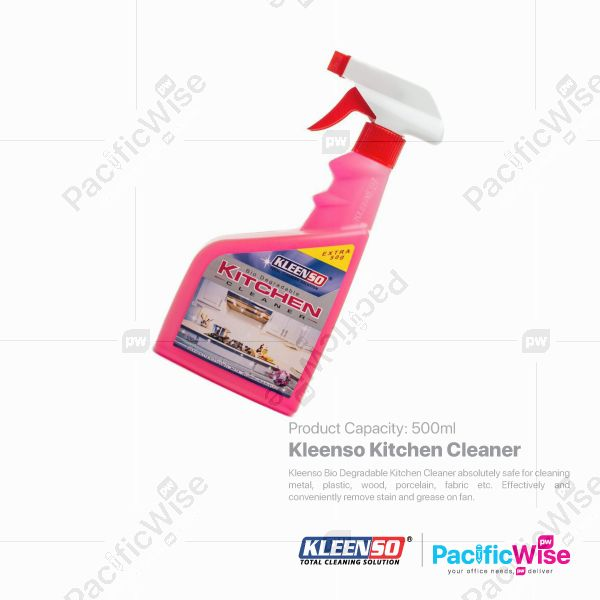 Kleenso Kitchen Cleaner-Pink (500ml)