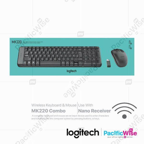 Logitech Wireless Keyboard & Mouse MK220