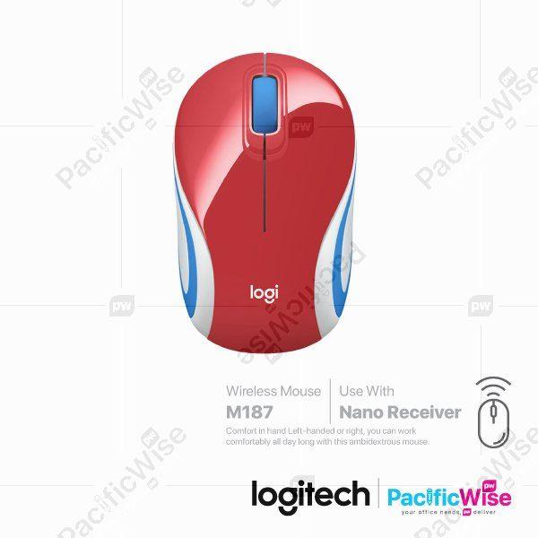 Logitech Wireless Ultra Portable Mouse M187