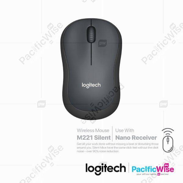 Logitech Wireless Mouse M221 Silent