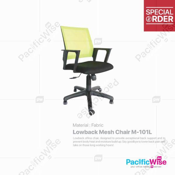 Lowback Mesh Chair/Kerusi Punggung Rendah/M-101L