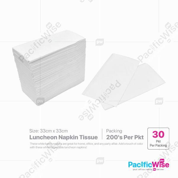Luncheon Napkin Tissue Size 33cm x 33cm