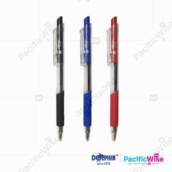 Dolphin/Ball Pen/Pen Bola/Writing Pen/e-Rite 716/0.7mm