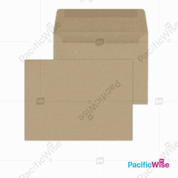 Brown Manila Envelope (Non-Window)/Manila Sampul Surat Coklat (Tiada-Tetingkap)/Envelope/6 1/4