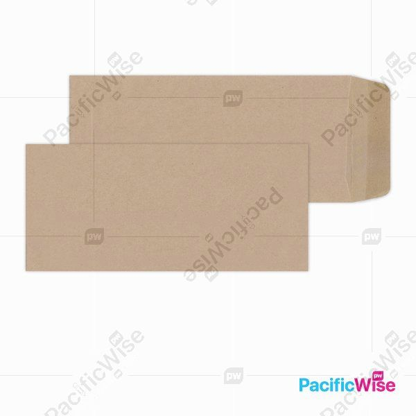 Brown Manila Envelope (Non-Window) 9'' X 4''