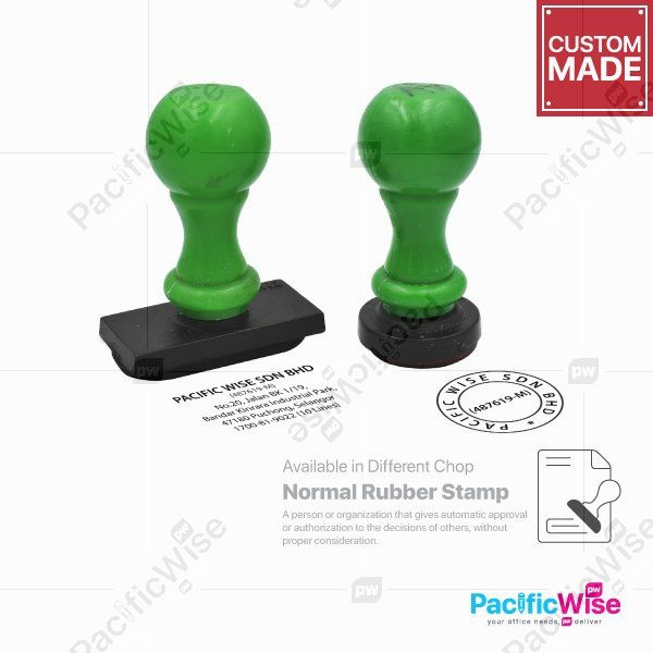 Normal Rubber Stamp (Custom Made)