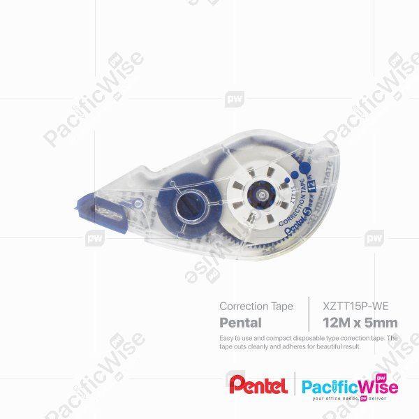 Pentel/Correction Tape/Pita Pembetulan/Writing Pen/12m