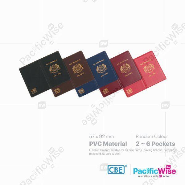 CBE Multiple Card Holder for IC / License