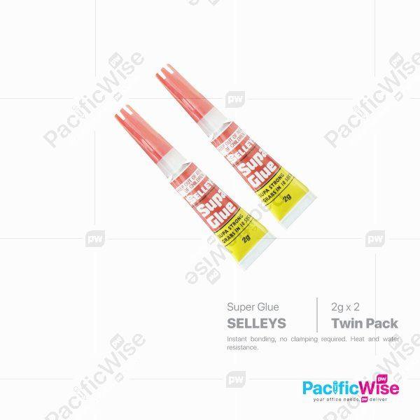 Selleys Super Glue (Twin Pack)