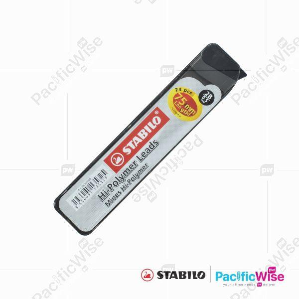 Stabilo/Pencil Lead/Mata Pensil/Writing Pen/3206/0.5mm (1Tube)