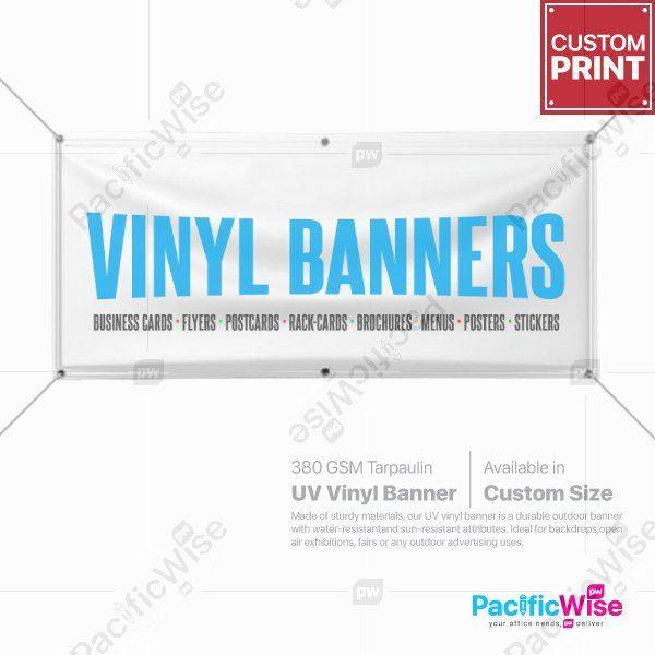UV Vinyl Banner