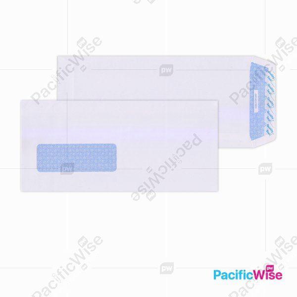 White Envelope (Window) 9 3/4
