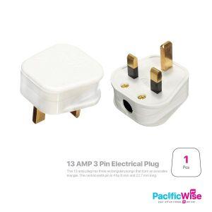 3 Pin Electrical Plug 13 Amp