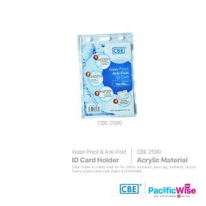 CBE Card Holder Water Proof Anti-Fold/Pemegang Kad Kalis Air Anti Lipat/Name Badge (2590)