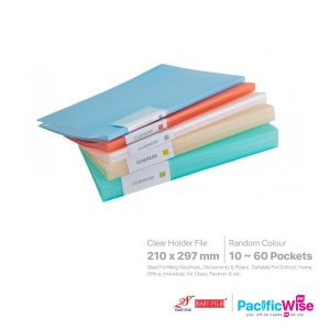 East File Clear Holder Files