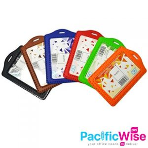 ID 3030 (P) PVC Card Holder(Random Colour)/Pemegang Kad PVC (P)/Name Badge/3030