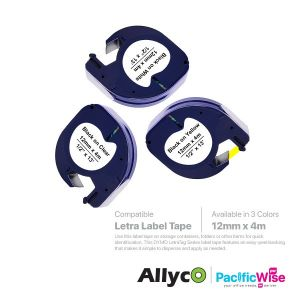 Dymo Letra Label Tape (Compatible)