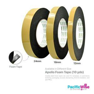 Apollo Foam Tape/Self Adhesive Tape/Pita Pelekat (10yds)