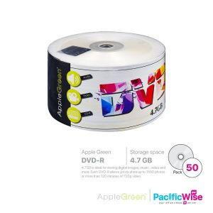 Apple Green DVD-R 4.7GB (50'S/Cake Box)