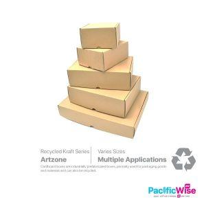 Artzone Cardboard Box/Cardboard Brown Gift Box/Kotak Keras/Craft Box/Packing Product